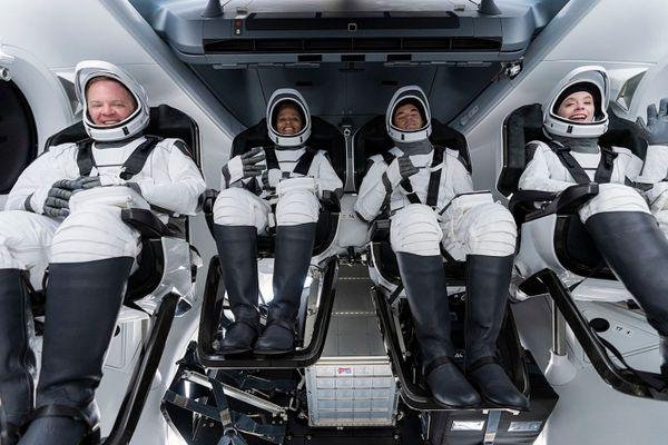 Les premiers touristes de l'espace