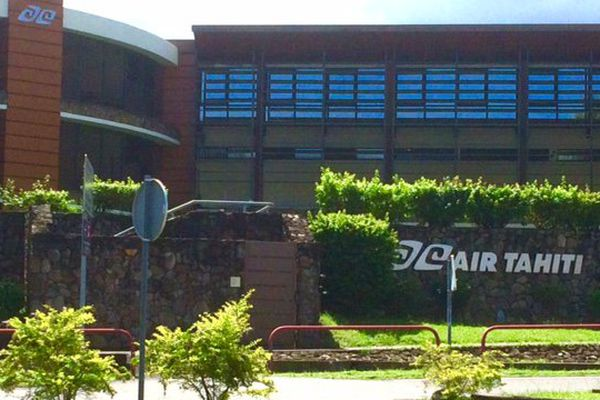 Le siège d'Air Tahiti à Faaa