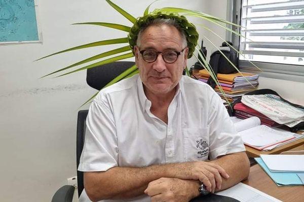 Richard Farman, directeur de l'aquarium