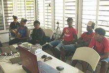 14 jeunes de la commune ont participé à cet atelier vidéo 360°