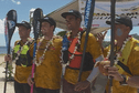 Cory Hill, grand vainqueur de la Maraamu Surf Ski Race