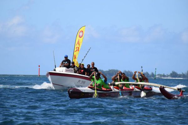 Tetiaroa Royal Race va'a