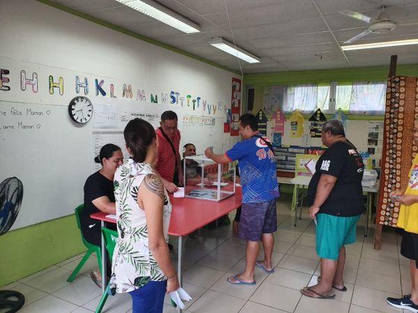 Vote à Bora Bora