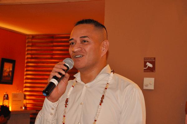 Alexandre Suda-Dit-Saponia, le chef de service par interim du service social de la MNC