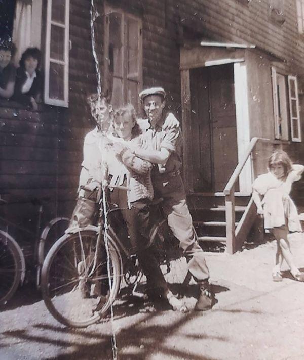 Auguste vélo