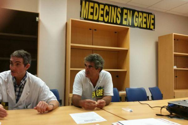 grève dans les hôpitaux