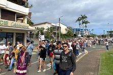 Partis du gouvernement, les manifestants ont rallié le Congrès.