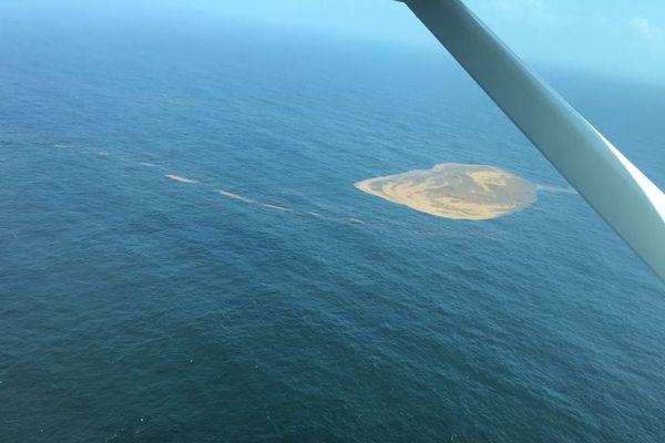 Survol du littoral guyanais par Greenpeace