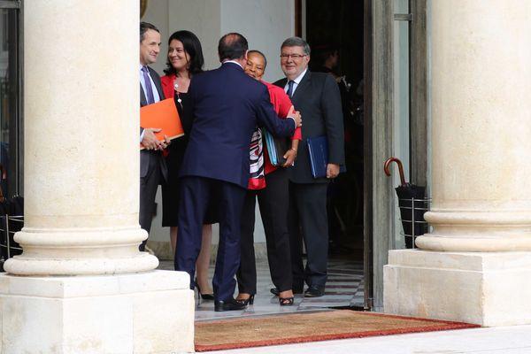 François Hollande et Christiane Taubira