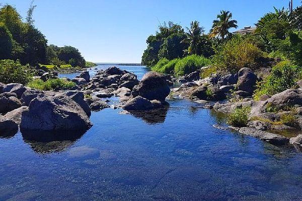 Ciel bleu sur La Réunion mai 2020