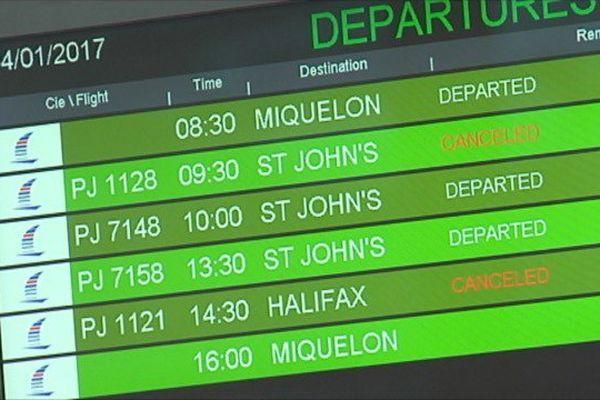 Panne technique sur l'ATR d'Air Saint-Pierre