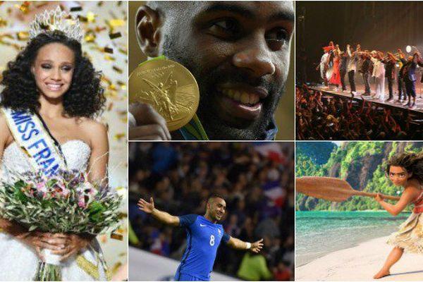 Le TOP 5 des personnalités des Outre-mer qui ont marqué 2016