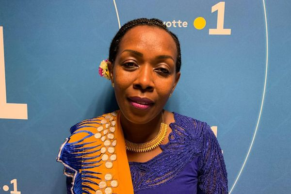 Zamimou Ahamadi du LR candidate à Bandrélé