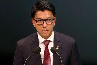 Andry Rajoelina à Lyon devant le G8