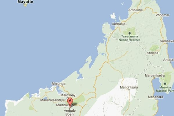 Google Maps Madagascar : Ambato Boeni