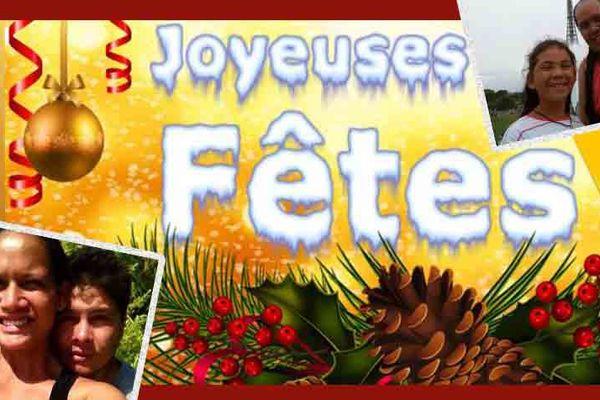 Joyeux Noël et bonne année : les voeux des internautes