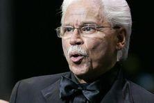 Le musicien née en République Dominicaine Johnny Pacheco (1935 / 2021).