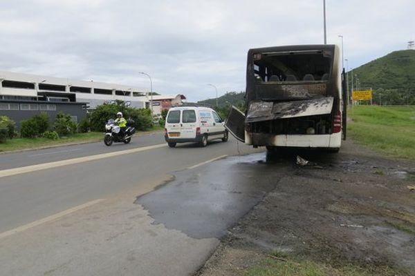 bus incendie reportage