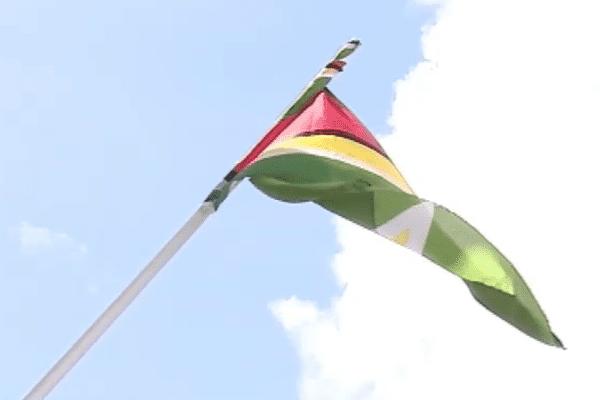 Le drapeau du Guyana