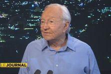 Gaston Flosse, invité du journal de Polynésie 1ère, 01 12 2013