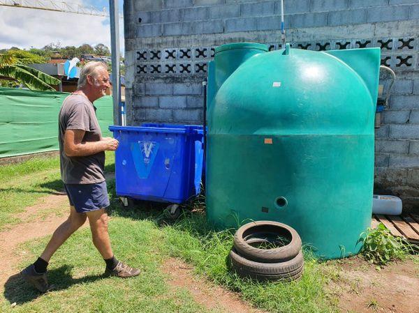 Station de lavage écologique