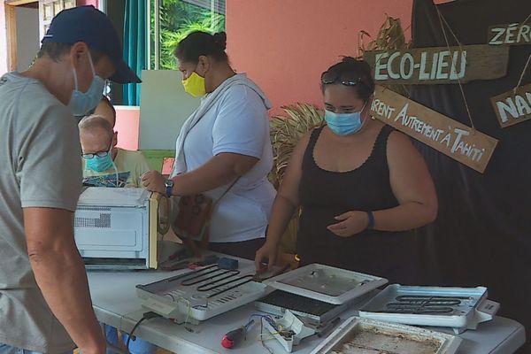 Eco-Lieu de Faa'a - atelier réparation