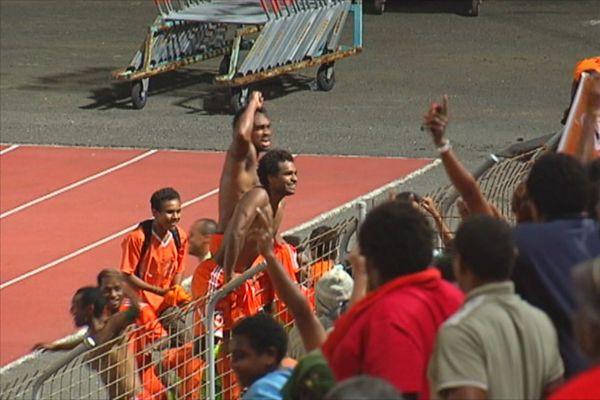 Les joueurs de Lössi coachés par Sardo remportent la Coupe de Calédonie 2012.