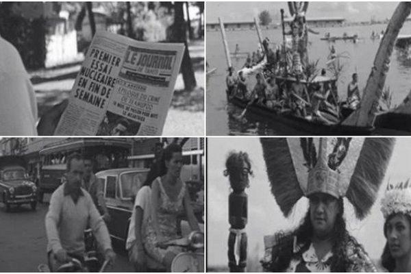 Archives d'Outre-mer : il y a 50 ans, le premier essai nucléaire de la France en Polynésie