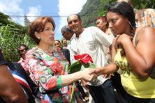 La dernière visite de Roselyne Bachelot à La Réunion remonte à 2012.