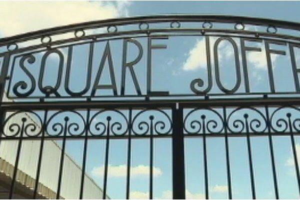 Les grilles du Square Joffre