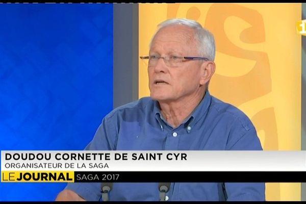 Saga 2017 : Doudou de Saint-Cyr invité du journal