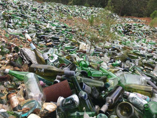 déchets verre au Mont-Dore