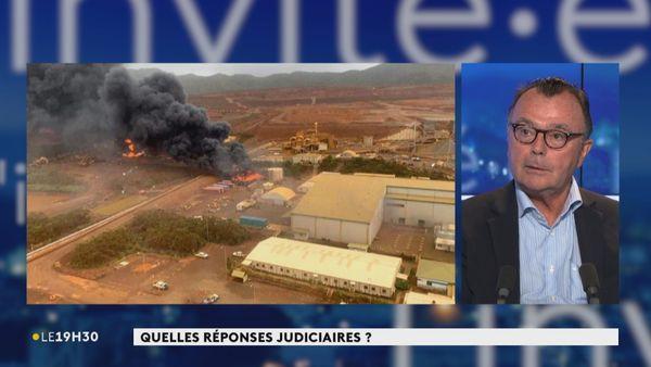 Le procureur Yves Dupas au journal télévisé le 16 février 2021