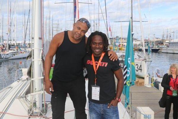 Jimmy Dreux et Rodolphe Sepho