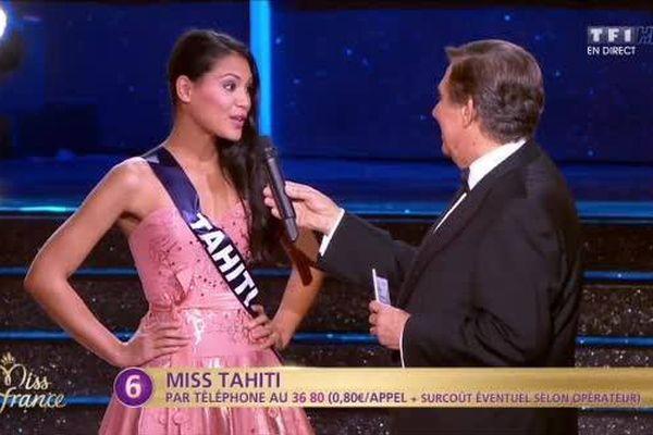 Hinarere Taputu parmi les 12 finalistes - Election Miss France 2015