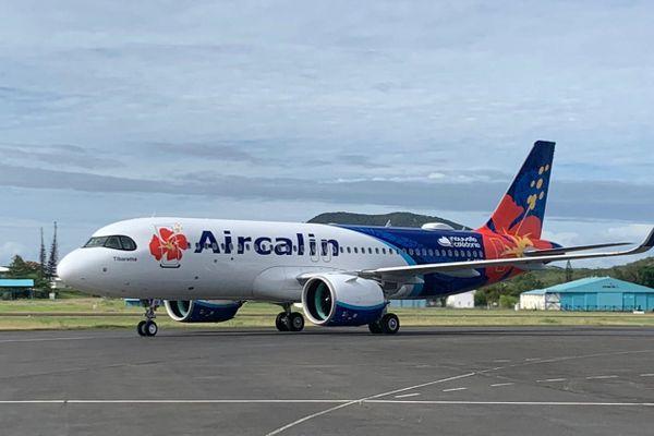 nouvel appareil a320 aircalin
