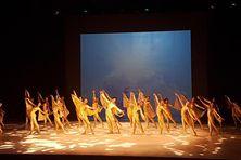 Les élèves de l'école de danse Betty Bylon.