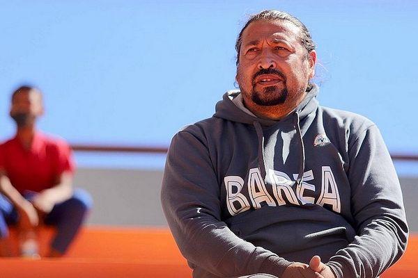 Eric Rabésandratana, sélectionneur de l'équipe de Madagascar, septembre 2021