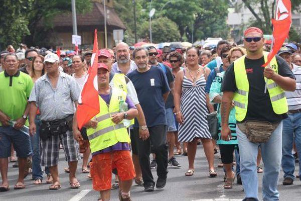 Grève générale intersyndicale