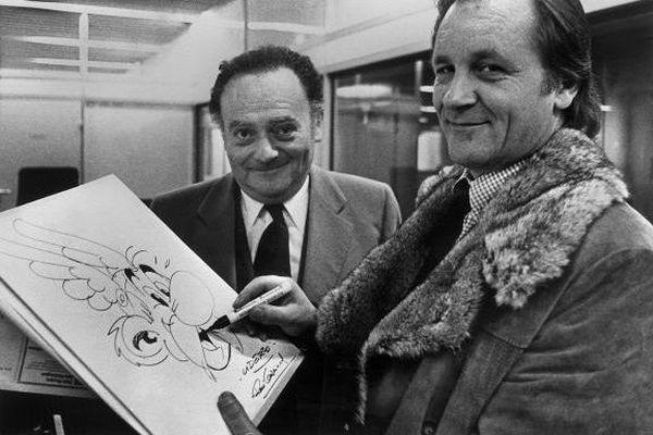 Uderzo et Goscinny dans les années 70