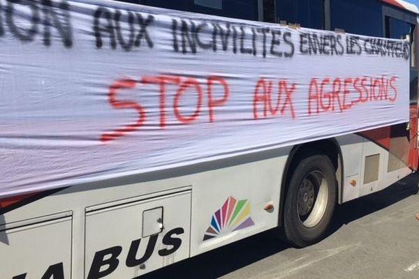 Karuia Bus : débrayage du 7 aout 2018