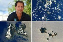 Depuis l'espace, l'astronaute Thomas Pesquet a immortalisé la Guadeloupe.