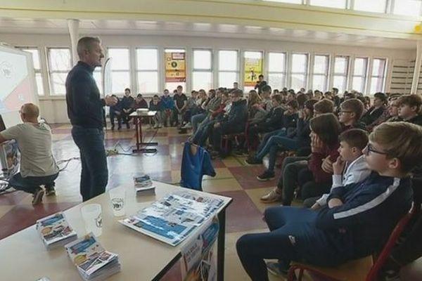 Le Conseil territorial des jeunes présenté aux élèves de l'archipel