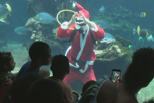Noël à l'aquarium des lagons