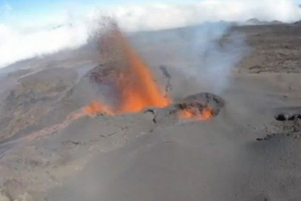 Drone volcan