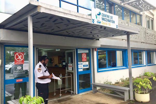 Centre de vaccination Covid du SMIT, médecine du Travail, 15 avril 2021