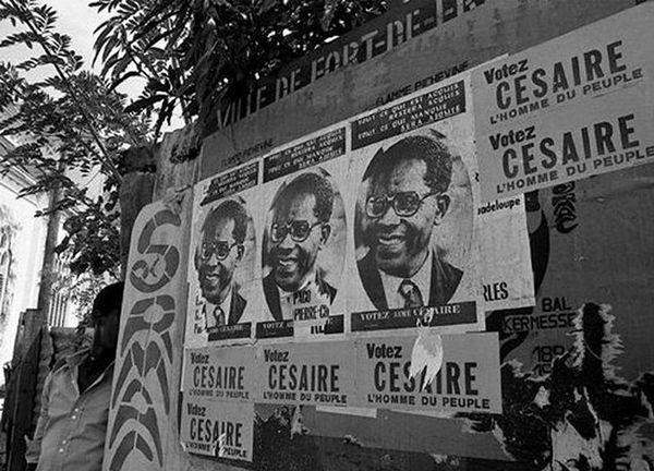Affiches de campagne Aimé Césaire 1945