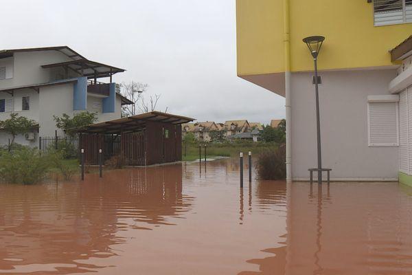 Inondation à Concorde à Matoury