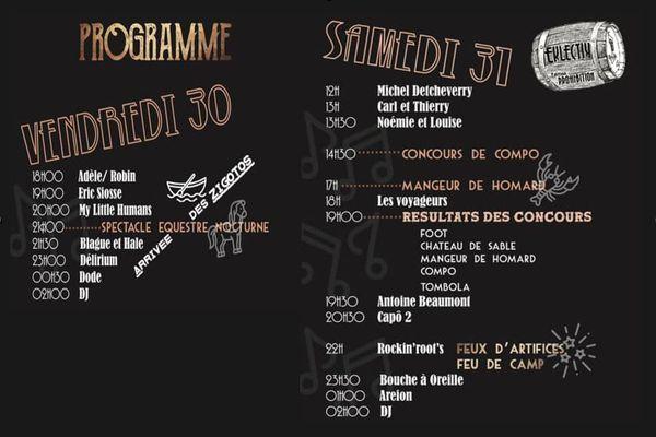 Dunefest 2021 : le programme des deux jours de festivités
