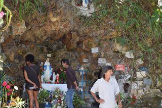La grotte de la Vierge